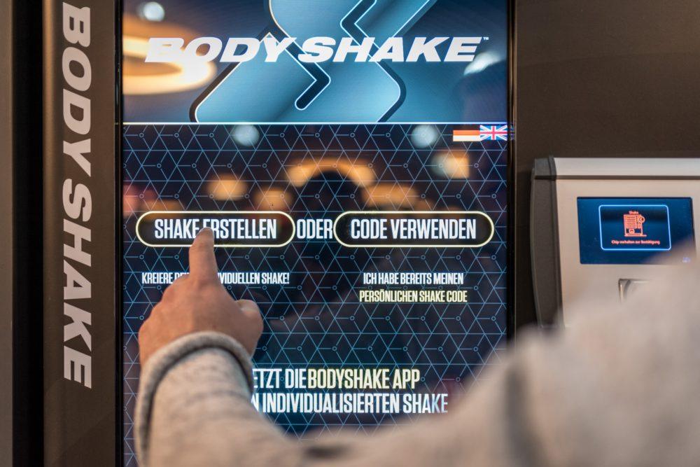 Body Shake Automat Fitnesstraining