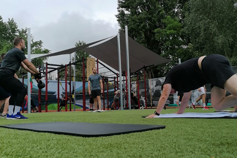 Outdoor Kurse im Sportpark Heppenheim