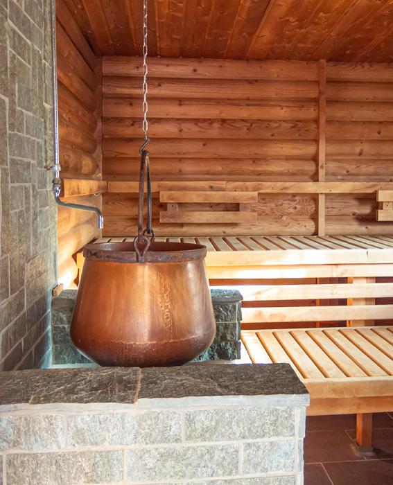 Sauna im Sportpark Heppenheim