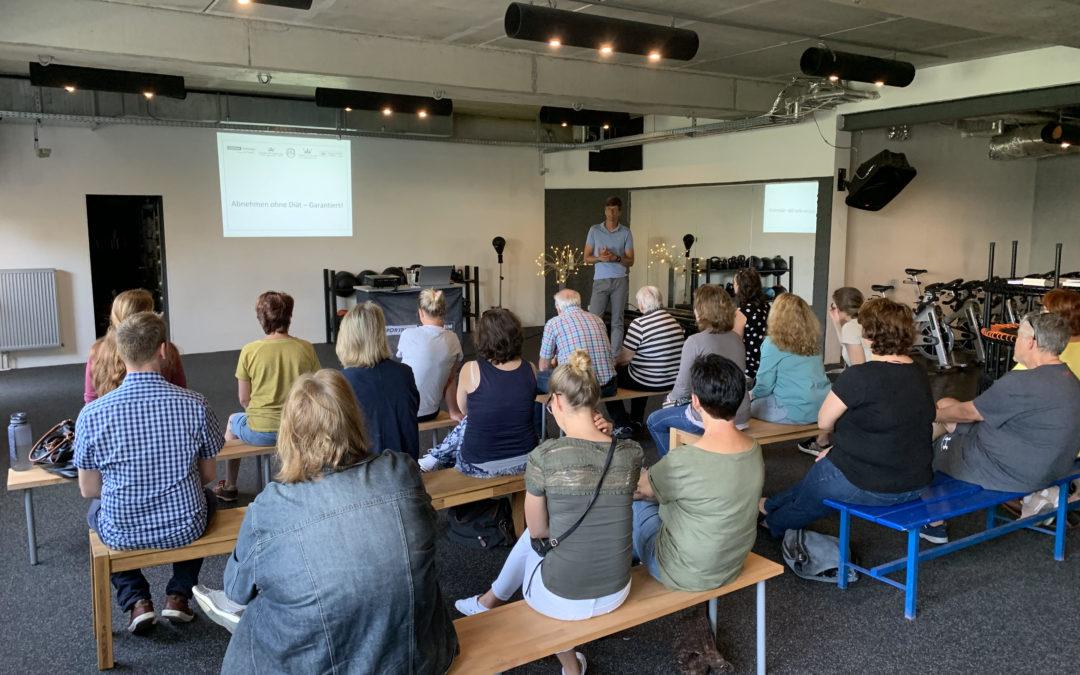 Workshop zum Thema Ernährung im Sportpark Heppenheim