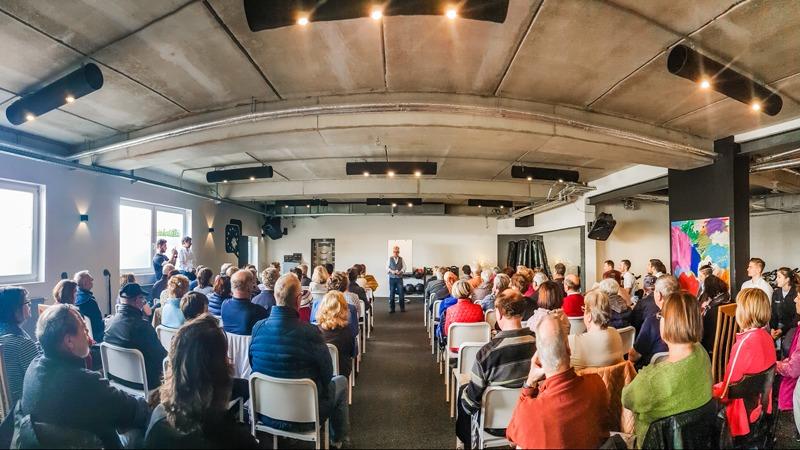 Großer Andrang bei Vorträgen mit Andreas Bredenkamp