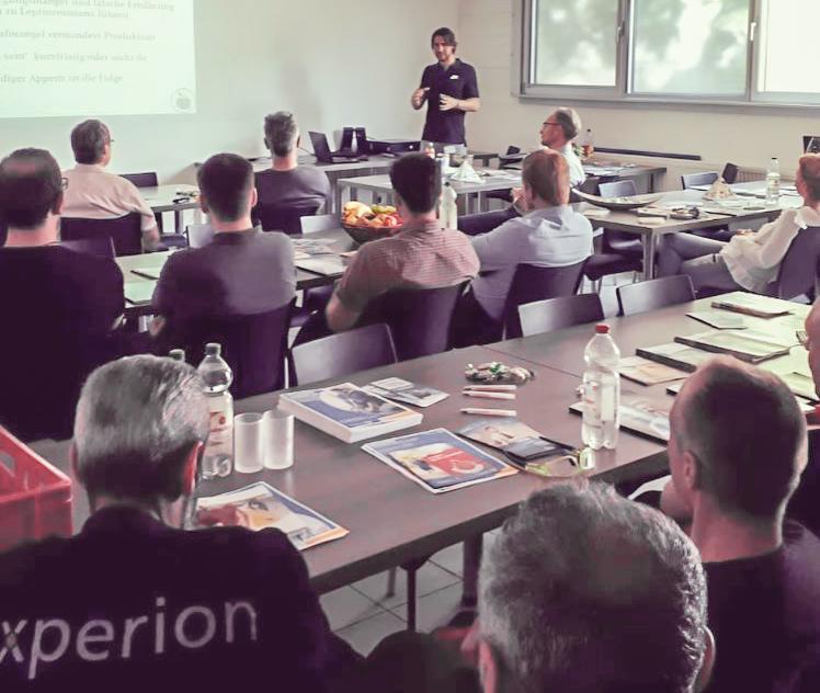 Gesundheitstag der BKK Freudenberg bei Xperion components GmbH